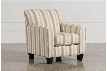 Display product reviews for LARYN KHAKI ACCENT CHAIR