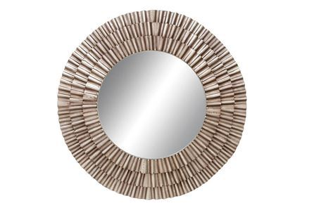 Display product reviews for MIRROR-METAL RUCHED 41X41