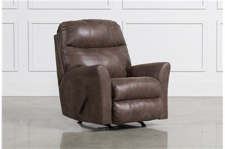 Display product reviews for TULLOS COFFEE ROCKER RECLINER