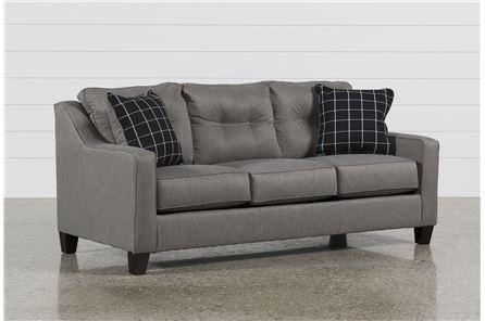 Display product reviews for BRINDON CHARCOAL QUEEN SOFA SLEEPER