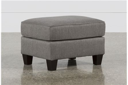 Display product reviews for BRINDON CHARCOAL OTTOMAN