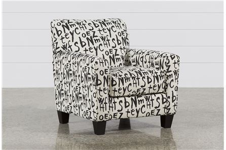 Display product reviews for BRINDON GRAFFITI ACCENT CHAIR