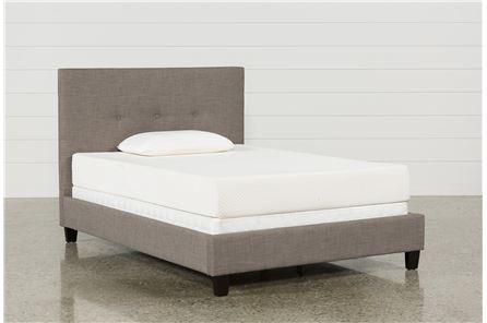 Display product reviews for KIT-HUNTER FULL UPHOLSTERED PLATFORM BED