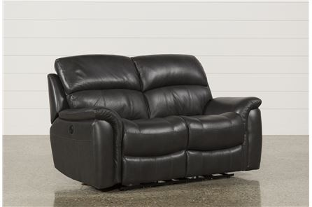 Display product reviews for JOEL CHARCOAL POWER RECLINING LOVESEAT