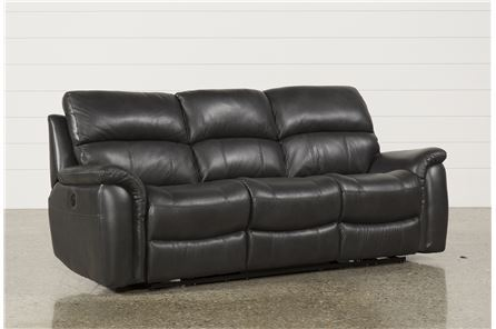 Display product reviews for JOEL CHARCOAL POWER RECLINING SOFA