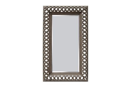 Display product reviews for MIRROR-BRUSHED LATTICE 32X68