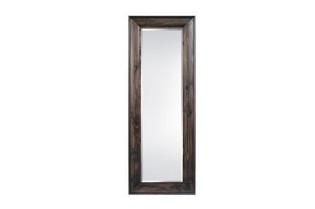 Display product reviews for LEANER MIRROR-WALNUT WOOD FINISH 36X90