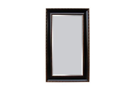Display product reviews for LEANER MIRROR-BLACK ANTIQUE GOLD 45X75
