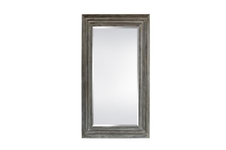 Display product reviews for LEANER MIRROR-BEIGE WOOD 52X88