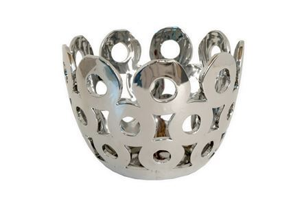 Display product reviews for SILVER PIERCED BOWL