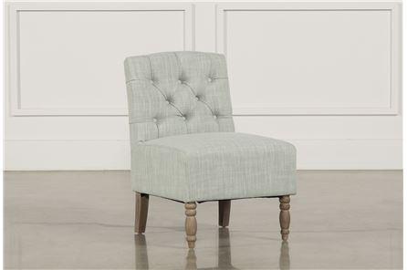 Priscilla Grey Accent Chair